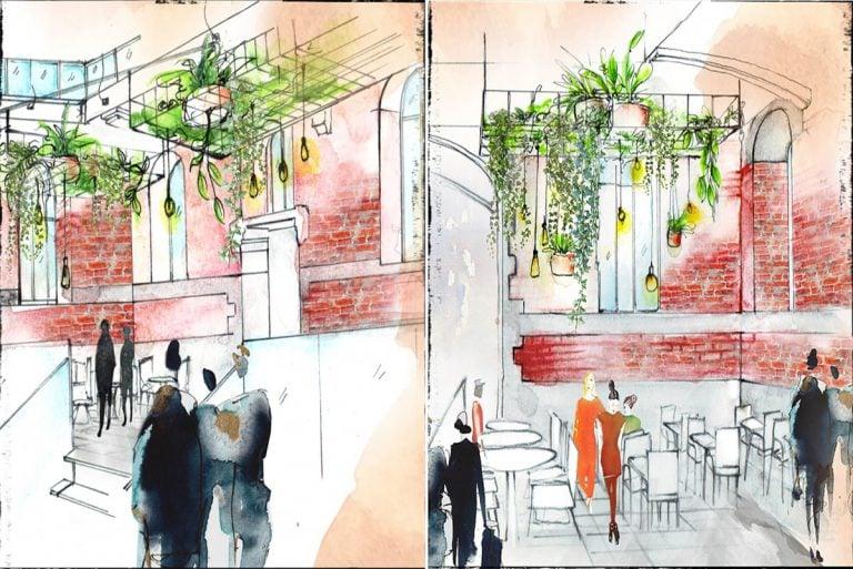 """Architecture d'intérieur Terrasse végétale """"La Fabbrica"""" à Tour&Taxis"""